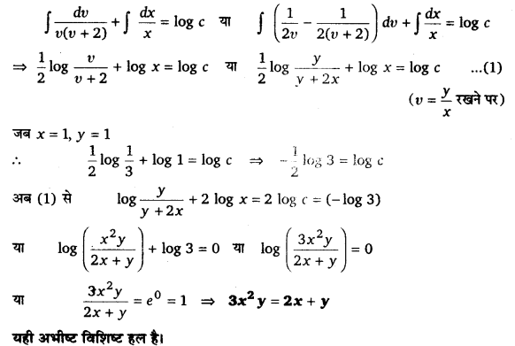 UP Board Solutions for Class 12 Maths Chapter 9 Differential Equations 12.1