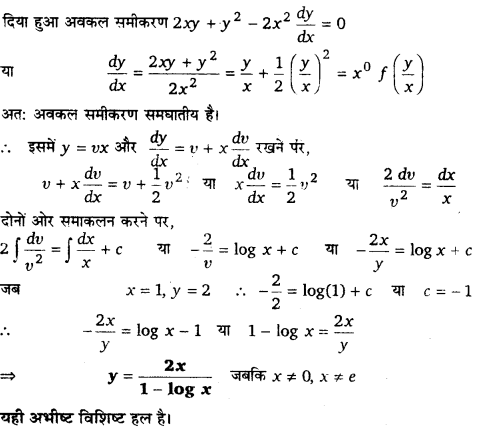 UP Board Solutions for Class 12 Maths Chapter 9 Differential Equations 15