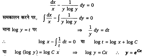 UP Board Solutions for Class 12 Maths Chapter 9 Differential Equations 7