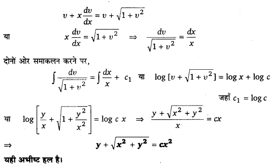 UP Board Solutions for Class 12 Maths Chapter 9 Differential Equations 6.2