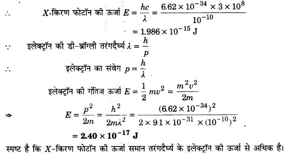 UP Board Solutions for Class 12 Physics Chapter 11 Dual Nature of Radiation and Matter 31