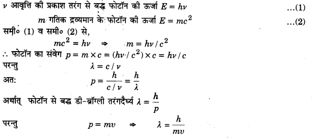 UP Board Solutions for Class 12 Physics Chapter 11 Dual Nature of Radiation and Matter L5