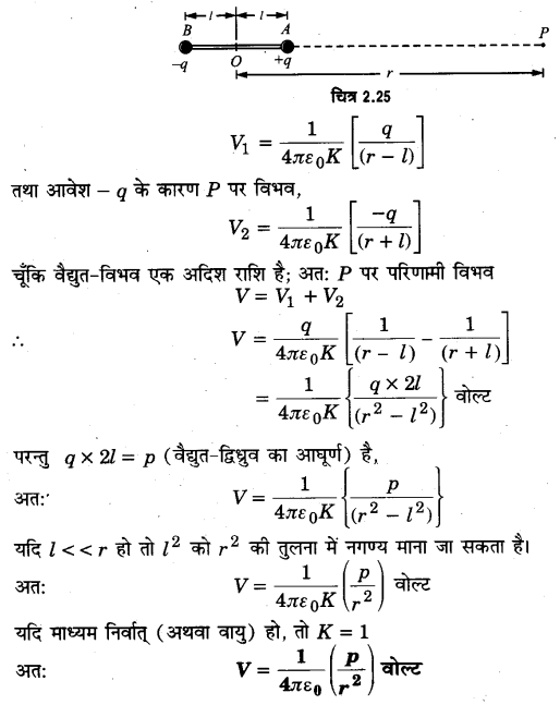 UP Board Solutions for Class 12 Physics Chapter 2 Electrostatic Potential and Capacitance SAQ 2